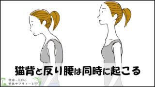 猫背と反り腰は同時に起こる【2つの姿勢の関係を徹底解説】TOP
